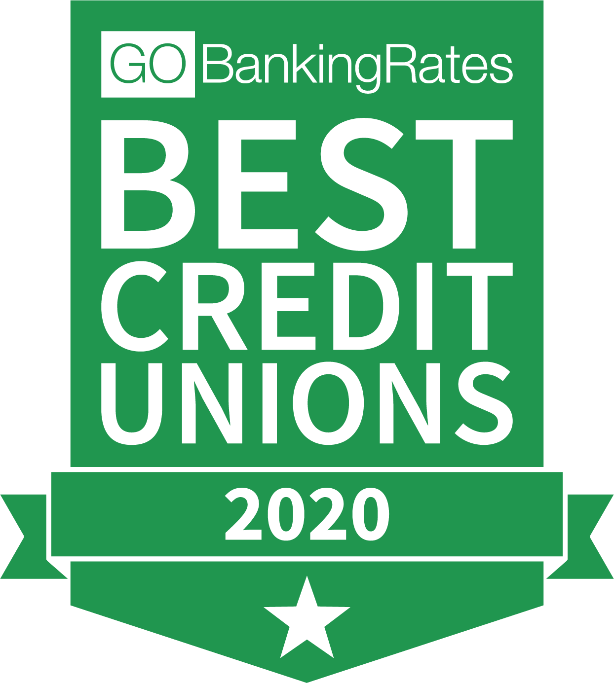 Best Credit Union of 2020 by GOBankingRates