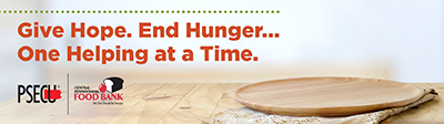 Give Hope. End Hunger... One Helping at a Time.