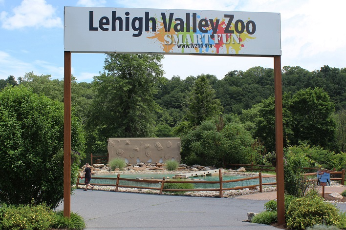 Entrance to Lehigh Valley Zoo - Photo used with permission