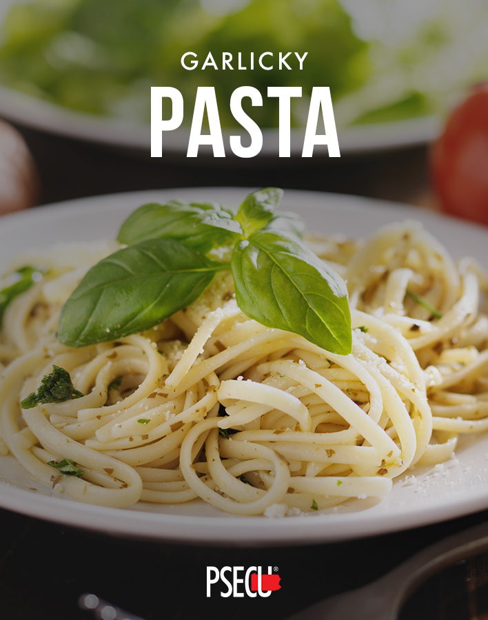 Garlicky Pasta and other cheap recipes for families