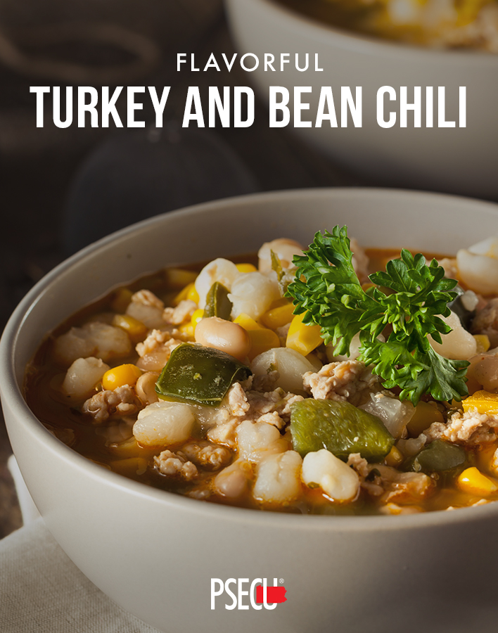Turkey and Bean Chili plus other inexpensive meals for large families