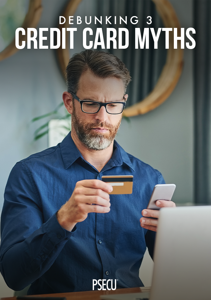 Debunking 3 Credit Card Myths