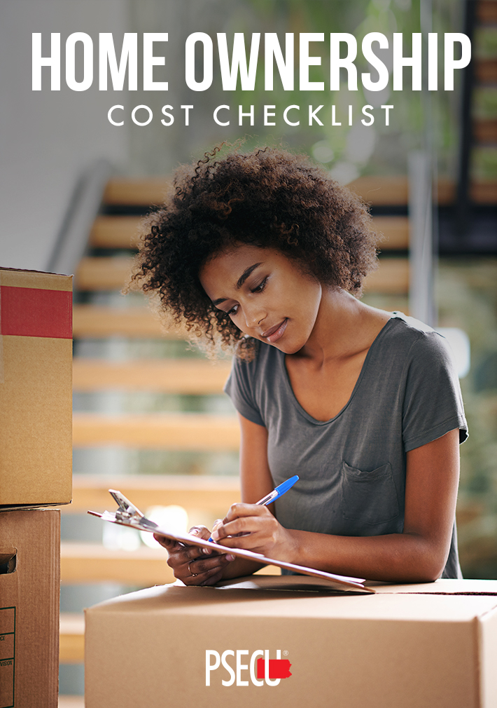 Home ownership cost checklist