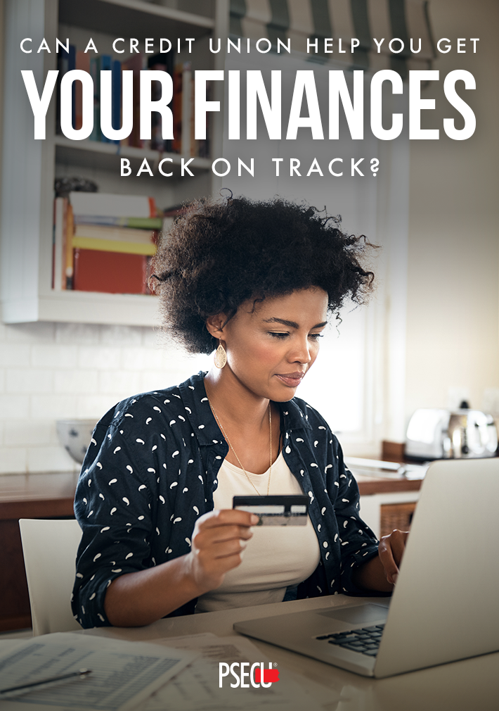 Credit union help get your finances back on track